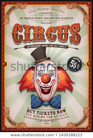 Circus Clown Stock photo © benchart