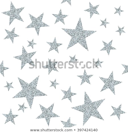 Stock photo: Silver star