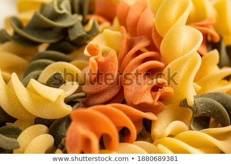 Background texture of dried Italian casarecce Stock photo © ozgur