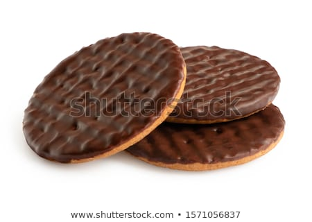 Chocolate covered biscuit Stock photo © ozaiachin