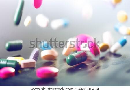 白 · 3D · 医療 · 錠剤 · 薬 · セット - ストックフォト © loopall