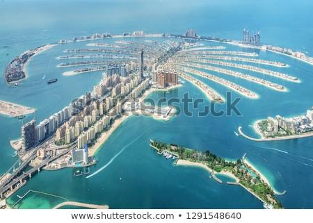Kilátás Dubai város építkezés technológia éjszaka Stock fotó © vwalakte