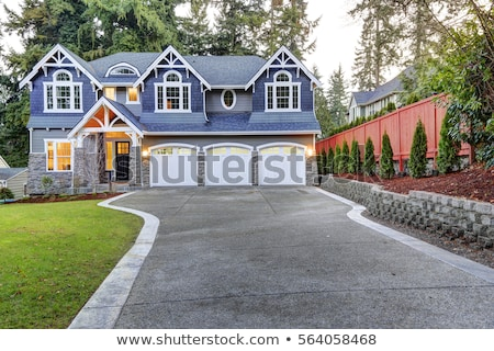 a big blue house stock photo © bluering