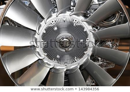 Resfriamento ventilador soprador garagem armazém Foto stock © stevanovicigor