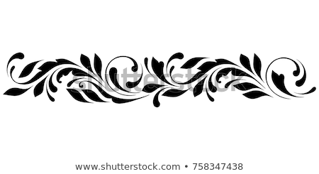a flowery border design stock photo © bluering