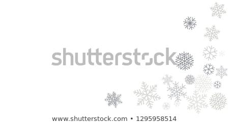 クリスマス · テンプレート · 青 · eps · デザイン - ストックフォト © beholdereye