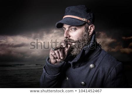 Cool marynarz twórczej retro Fotografia modny Zdjęcia stock © Fisher