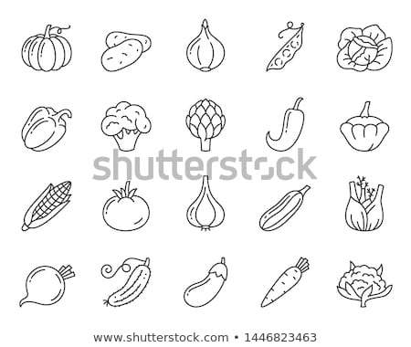 Carrot, Cauliflower and Artichoke Stock photo © ddraw