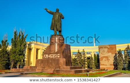 Russia. Volgograd. A monument to Lenin. Stock photo © nemalo