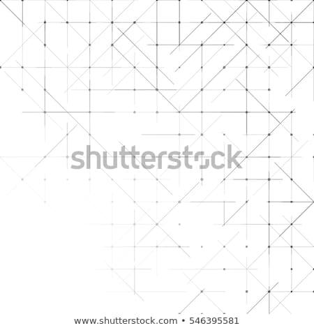 Abstract disegno geometrico cross forme sfondo tessuto Foto d'archivio © SArts