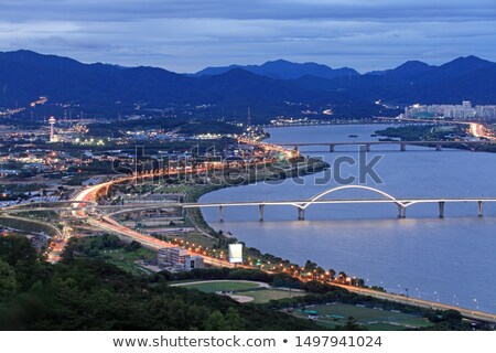 Large Bridge at Night Stock photo © hsfelix