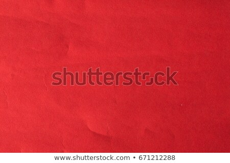 Crumpled Dark Red Paper Stock photo © adamson