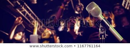 クローズアップ マイク 人 音楽 コンサート ストックフォト © wavebreak_media