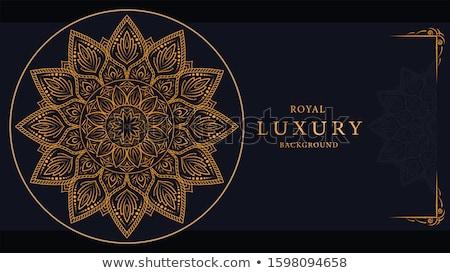 mandala decoration background art design Stock photo © SArts