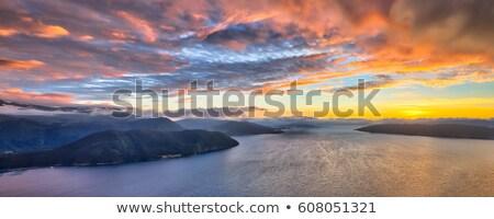 Midfjorden - fjord in Norway Stock photo © Kotenko