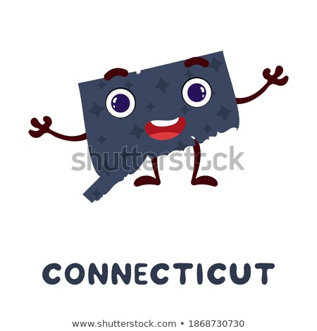 Cartoon Connecticut Stock photo © cthoman