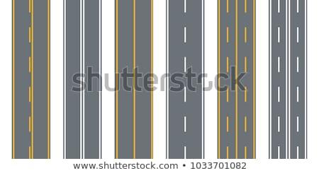 Ayarlamak yollar örnek duvar kağıdı beyaz Stok fotoğraf © bluering
