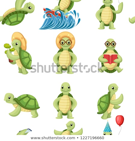 Turtle book Stock photo © colematt