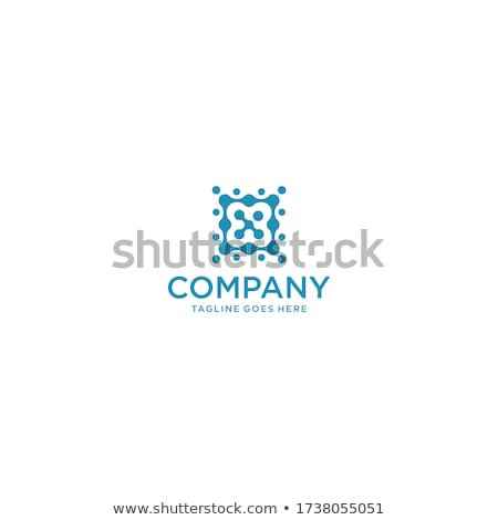letter x wavy logo template vector illustration isolated on white background stock photo © kyryloff