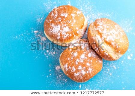 Homemade donuts with sugar powder Stock photo © furmanphoto