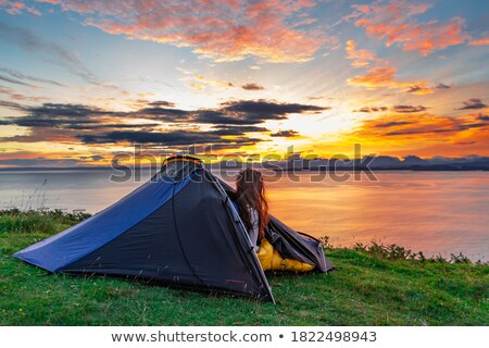 Camping Isle of Skye Stock photo © unkreatives