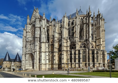 Beauvais Cathedral, France Stock photo © borisb17
