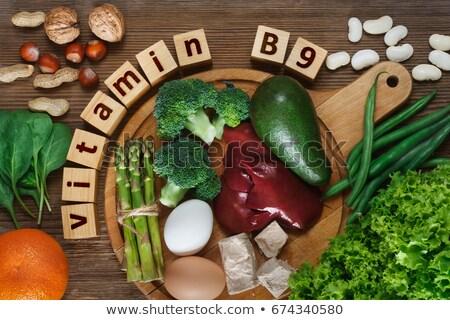 Natural sources of vitamin B9 Stock photo © furmanphoto