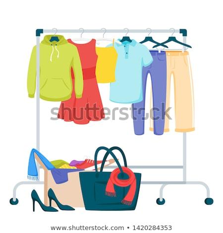 root · vendeur · magasin · acheteur · caissier · vecteur - photo stock © robuart