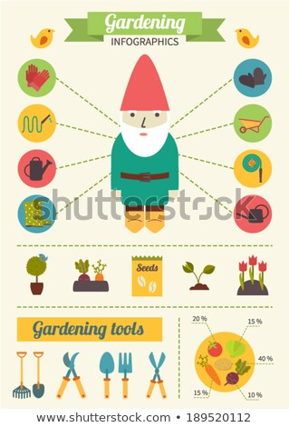 Vegetable Patch Gnome Stock photo © naffarts