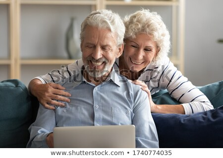 Happy Family Shopping, Pastime of People Website Stock photo © robuart