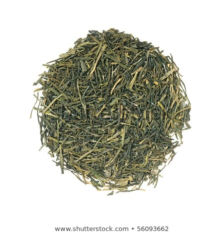 japanese green premium sencha tea stock photo © sahua