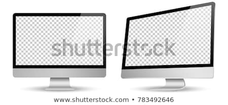 computer display with empty black screen Stock photo © LoopAll