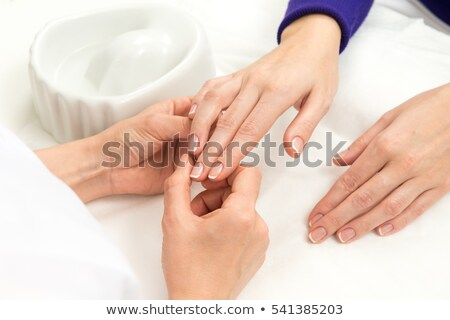 Woman with hand-saw Stock photo © photography33
