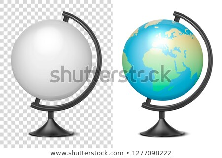Blank globe on a stand Stock photo © klikk