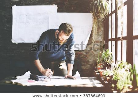 интерьер архитектура человека Сток-фото © carloscastilla