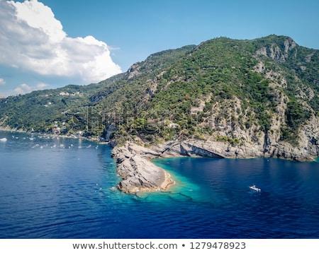Punta Chiappa, Liguria, Italy Stock photo © Antonio-S