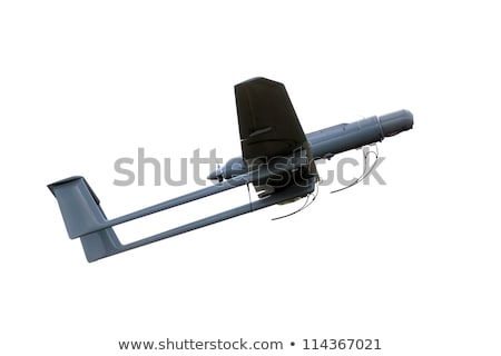 uav army plane isolated Stock photo © smithore