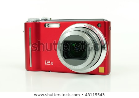 Digital compact camera isolated over white Stock photo © experimental