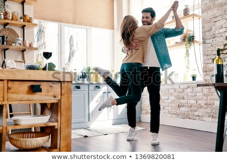Affectionate couple at home Stock photo © photography33