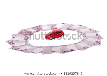 Model cars and five banknotes Stock photo © a2bb5s