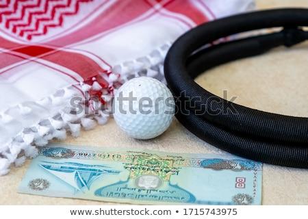 гольф белый Объединенные Арабские Эмираты деньги Сток-фото © CaptureLight