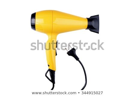 Hair-dryer. On a white background. Stock photo © ozaiachin