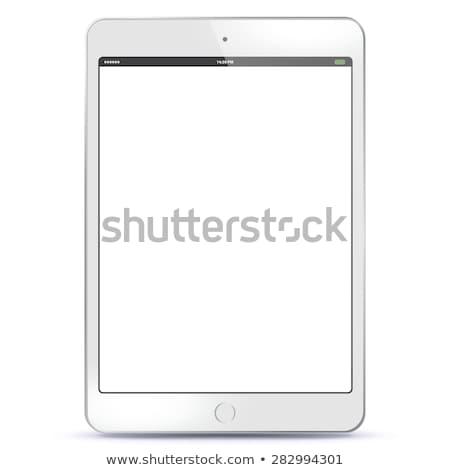 preto · ebook · leitor · comprimido · branco · tecnologia - foto stock © make