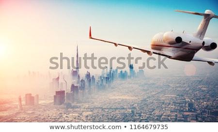 исполнительного город Jet фон бизнеса свет Сток-фото © Editorial