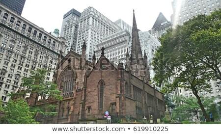Igreja New York City EUA Nova Iorque 12 broadway Foto stock © frank11