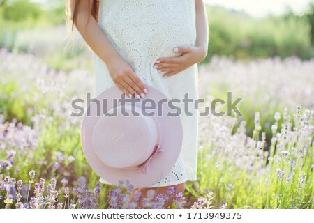 Szalmaszál nő mező hatalmas fa nyár Stock fotó © emese73