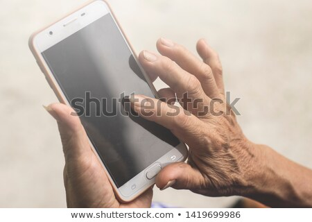 mão · interação · homem · calendário - foto stock © 805promo