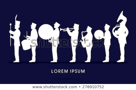 Marching band. Stock photo © oscarcwilliams