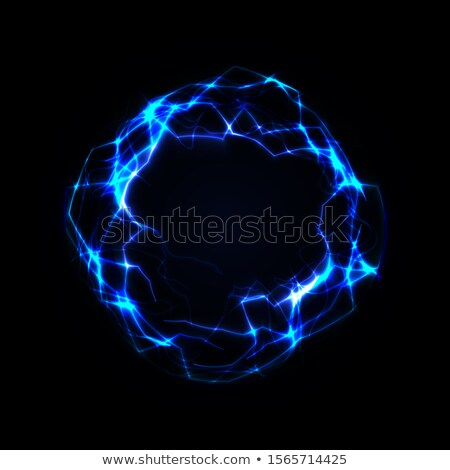 eletricidade · brilhante · relâmpago · estrela - foto stock © arenacreative
