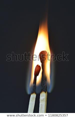 Tehlikeli sevmek görüntü mecaz kırmızı siyah Stok fotoğraf © grechka333